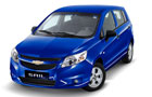 Chevrolet Sail UVA's accessory pack list loaded