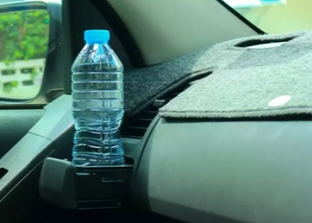 How Keeping A Water Bottle In A Car Could Be Dangerous?