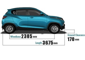 Mahindra KUV100 Features and Price: Infographic