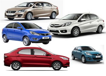 Top 5 Fuel Efficient Sedan Cars Available in India