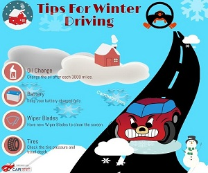Enjoy smooth driving during chilly winter