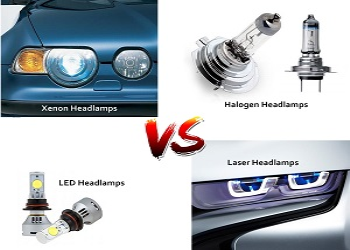 Which is Better Headlight: Halogen or Xenon or LED or Laser or Conversion Kit?