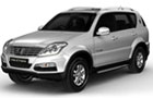 Mahindra Rexton, the first Ssangyong vehicle in India by 2012
