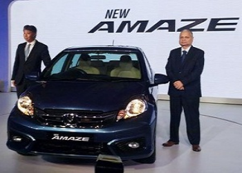 Revamped Honda Amaze launched with starting price of Rs. 5.29 lakh (ex-showroom, New Delhi)