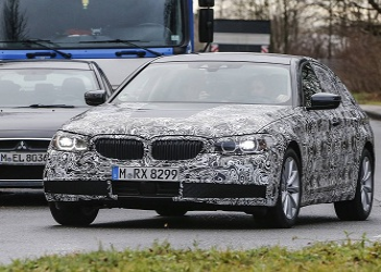 Next Generation BMW 5 Series caught by spies