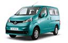 Nissan showcases NV200 Evalia Mobility Taxi during New York Auto Show