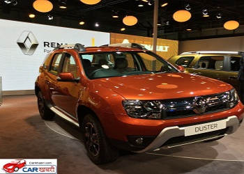 New Renault Duster unveiled in India @ 2016 Auto Expo