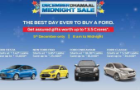 Ford Midnight Sale event today