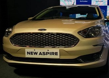 Ford Launches 2018 Aspire With The Starting Price Of Rs. 5.5 Lakh