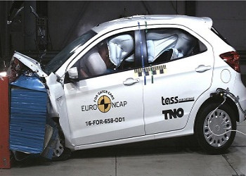 Vehicles of Ford and Fiat Exhibit Low Performance in NCAP Test