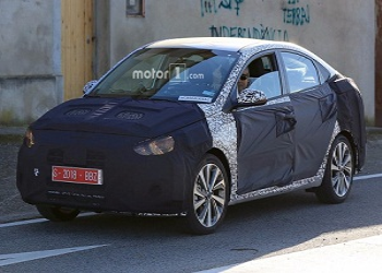Made for India Hyundai Verna Caught Testing in Spain