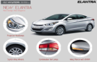 Generation next Hyundai Elantra pictures caught by spies