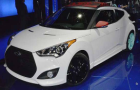 Hyundai Veloster C3 Roll Top Concept car at Los Angeles Auto Show