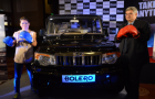 Mahindra Bolero presented to boxing Champion 'MC Mary Kom