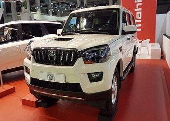 Mahindra Exhibits Scorpio Pickup in Spain