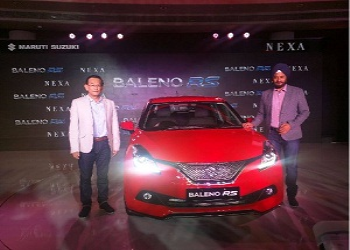 Maruti Suzuki Launches Baleno RS, priced Rs. 8.69 lakh