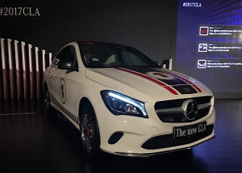 Mercedes-Benz Launches Facelift CLA Class in India