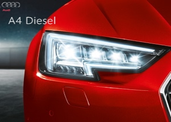 Audi Launched A4 Diesel Luxury Sedan in India at Rs. 40.20 Lac
