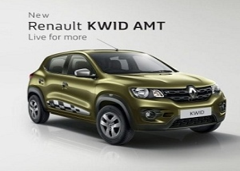 Renault Launches Kwid AMT with price tag of Rs. 4.25 lakh