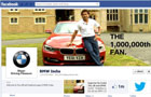 BMW India records one million fans on Facebook
