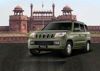 M&M introduces new color in TUV300 to commemorate Independence Day