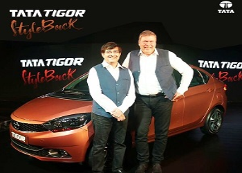 Tata Launches Compact Sedan Tigor, Price Starts from Rs. 4.7 Lakh