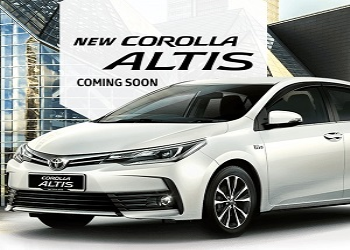 Toyota Corolla Altis Facelift Might be Launched in March 2017