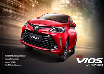India Bound Facelift Toyota Vios Debuts in Thailand