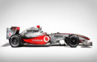 Vodafone McLaren Mercedes cars at the 2nd Indian Grand Prix