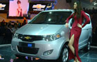 Chevrolet MPV Concept displayed at Auto Expo