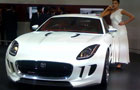 JAGUAR C-X16 and Jaguar C-X75 displayed at Auto Expo