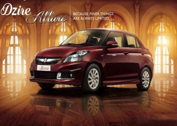MSIL Launches Allure Limited Edition of Swift Dzire