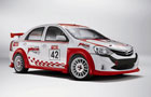 Toyota first Etios Motor Racing Weekend in Chennai