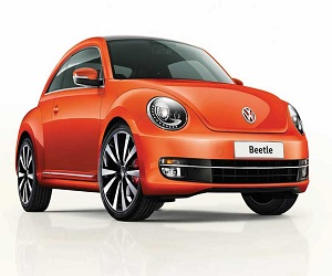 Brochure of Volkswagen Beetle 2016 cracked in cyber world