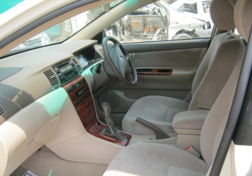 Toyota Corolla 2007 Interior Indian