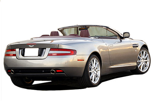 Aston Martin DB9 Rear Angle View Exterior Picture