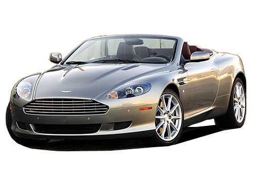 Aston Martin DB9 Front High Angle View Exterior Picture