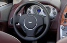 Aston Martin DB9 Steering Wheel Picture