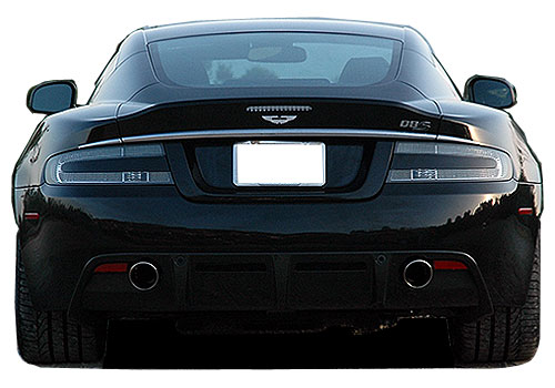 Aston Martin DBS Rear View Exterior Picture