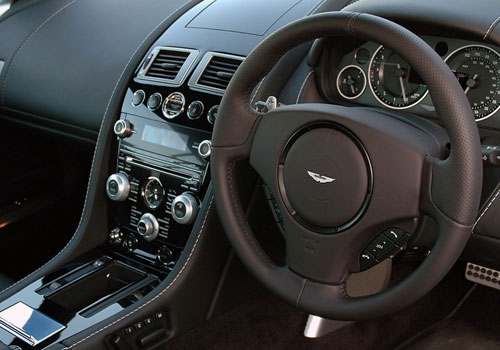 Aston Martin DBS Steering Wheel Interior Picture
