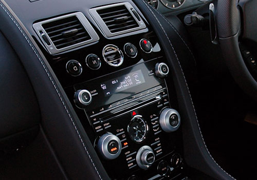 Aston Martin DBS Front AC Controls Interior Picture