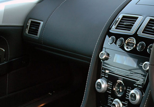 Aston Martin DBS Side AC Control Interior Picture