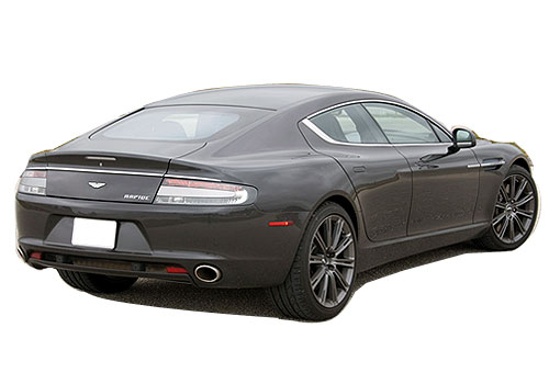 Aston Martin Rapide Rear Angle View Exterior Picture