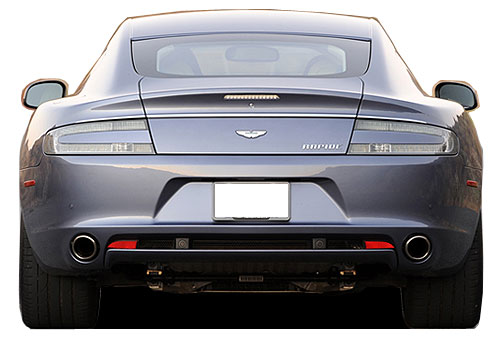 Aston Martin Rapide Rear View Exterior Picture
