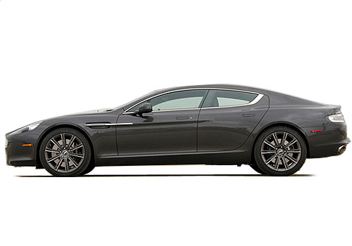 Aston Martin Rapide Front Angle Side View Exterior Picture