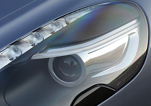 Aston Martin Rapide Headlight Exterior Picture