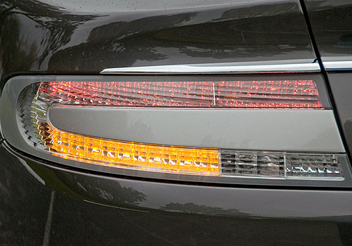 Aston Martin Rapide Tail Light Exterior Picture