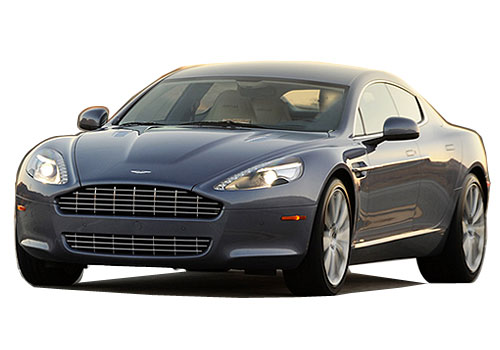 Aston Martin Rapide Front High Angle View Exterior Picture