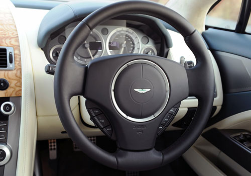 Aston Martin Rapide Steering Wheel Interior Picture