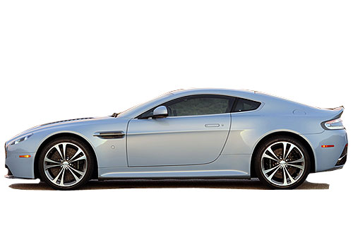 Aston Martin V12 Vantage Front Angle Side View Exterior Picture